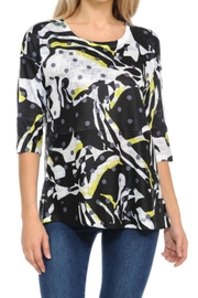Cubism Abstract Mesh Top - Product Mini Image
