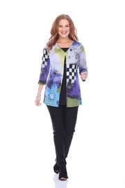Parsley & Sage Abstract Pleat Tunic - Product Mini Image