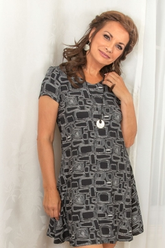 Pure by Urbanology Abstract Print Dress - Alternate List Image
