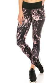 LA Coalition Abstract Print Legging - Product Mini Image