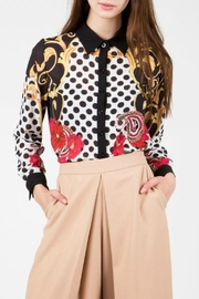 BEULAH STYLE Abstract Print Shirt - Product Mini Image