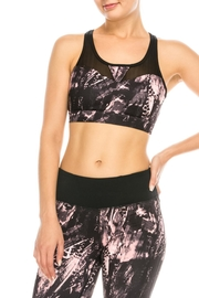 LA Coalition Abstract Sports Bra - Product Mini Image