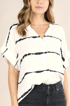 Love Stitch Abstract Stripe Top - Product List Image
