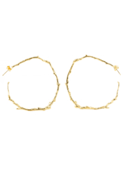 Jessica Ricci Jewelry Abundant NYC Twig Earrings - Product Mini Image