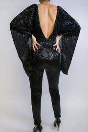 Abyss Jumpsuit Fire - Front full body