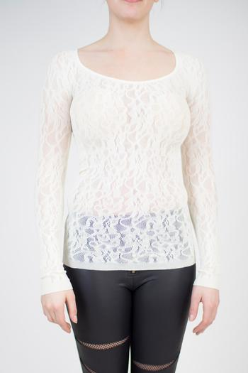 Shoptiques Product: Seamless Lace Top - main