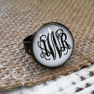 Shoptiques Product: Monogrammed Ring