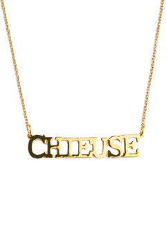 felicie aussi Gold Chieuse Necklace - Alternate List Image