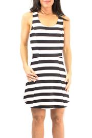 Shoptiques Product: Striped Flared Dress