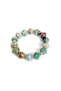 Acacia Creations Recycled Paper Bangle - Alternate List Image