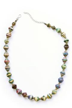 Shoptiques Product: Recycled Paper Necklace