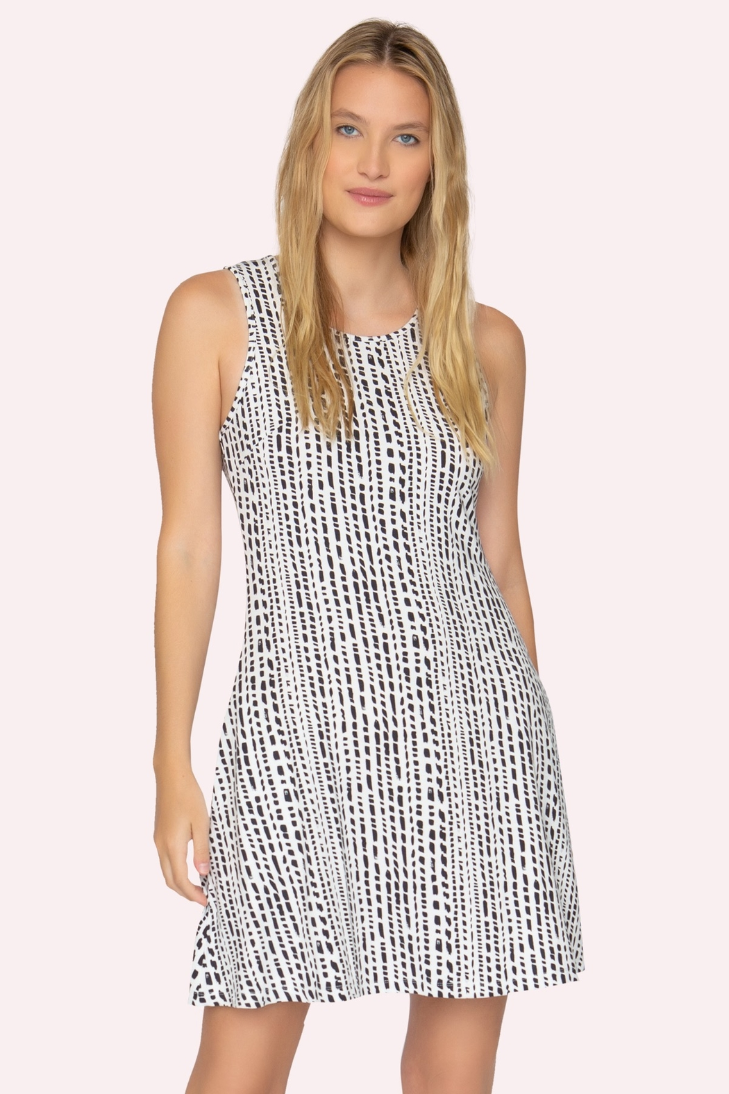 Tart Collections Acadia Dash Stripe Dress - Front Cropped Image