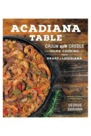 The Birds Nest ACADIANA TABLE RECIPE BOOK BY GEORGE GRAHAM - Product Mini Image
