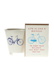 Accent Decor, J. Faulkner Bicycle Gift Set - Product Mini Image