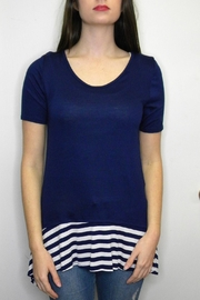 Accent Accessories Cute Stripes Tunic - Front cropped