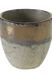 Accent Decor Muriel Pot Bronze - Front cropped
