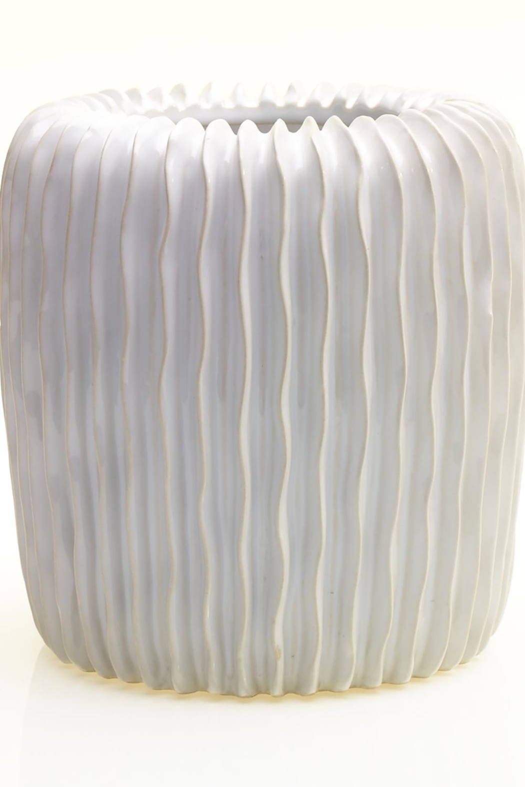 Accent Decor White Haven Vase - Main Image