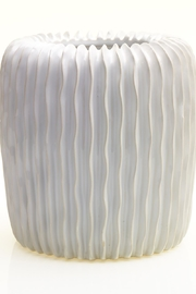 Accent Decor White Haven Vase - Front cropped