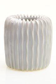 Accent Decor White Haven Vase - Product Mini Image