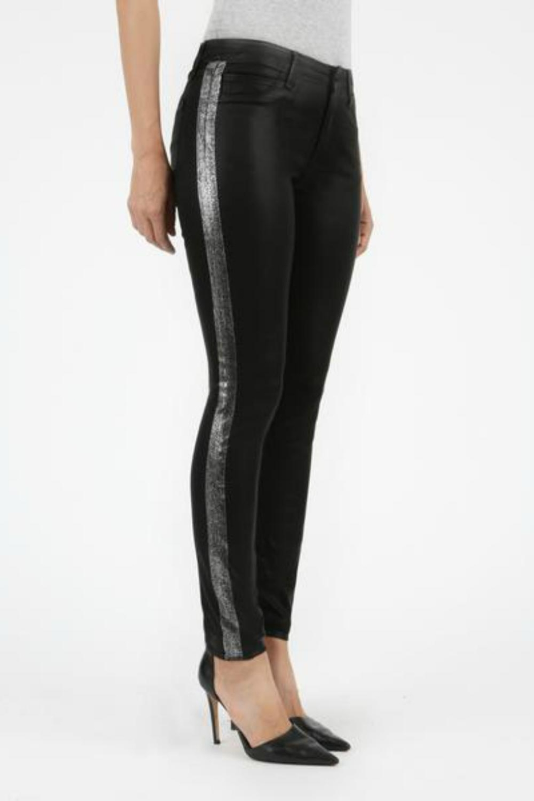 Articles of Society Accented Skinny Jeans - Front Full Image