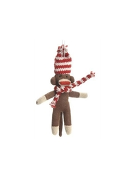 Accents de Ville Sock Monkey Ornament - Product Mini Image
