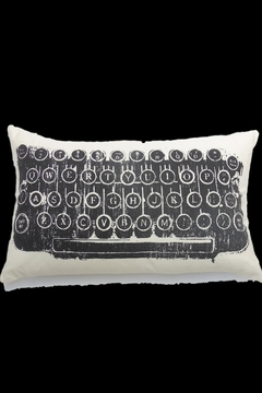 Shoptiques Product: Typewriter Cushion