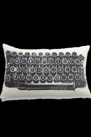 Accents de Ville Typewriter Cushion - Product Mini Image