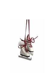 Accents de Ville Wooden Skates Ornament - Product Mini Image