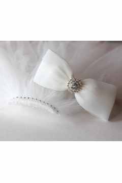Shoptiques Product: Bow Headband Veil