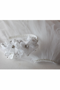 Shoptiques Product: Flower Detailed Veil