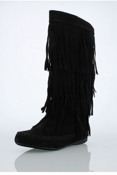 Shoptiques Product: Fringe Suede Boot