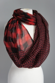 Accessory Concierge Checkered Scarf - Front cropped