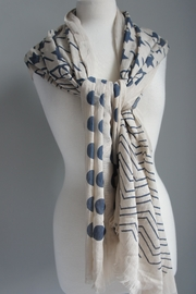 Accessory Concierge Chevron-Dots Scarf - Front cropped