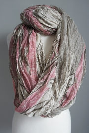 Accessory Concierge Mauve-Beige Infinity Scarf - Product Mini Image