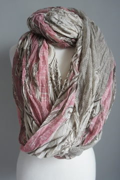 Accessory Concierge Mauve-Beige Infinity Scarf - Product List Image
