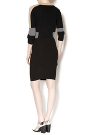 M. Rena Cable Sweater Skirt - Side cropped
