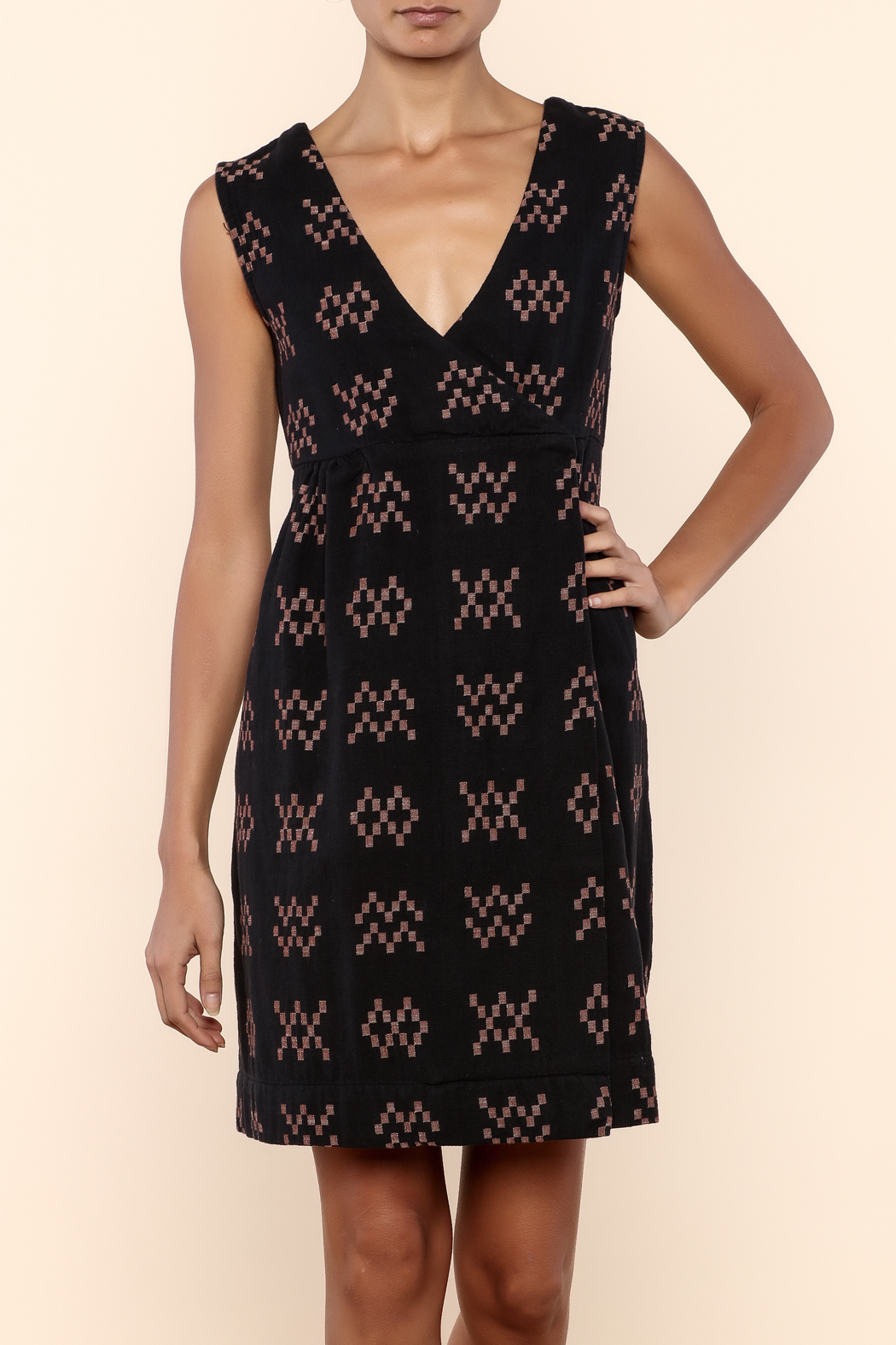 Ace & Jig Bedford Dress - Front Cropped Image