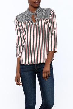 Ace & Jig Stripe Tie Top - Product List Image
