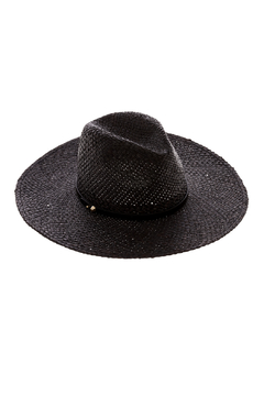 Ace of Something Black Straw Hat - Alternate List Image