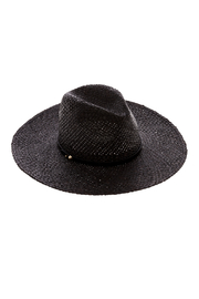 Ace of Something Black Straw Hat - Product Mini Image