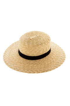 Ace of Something Boater Straw Hat - Product List Image