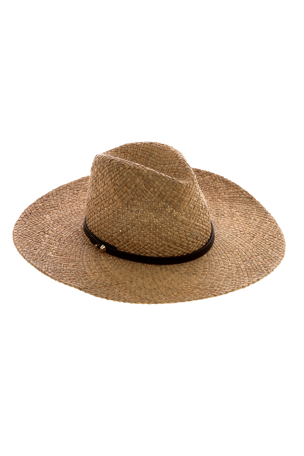 Ace of Something Brown Straw Hat - Main Image