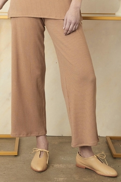 Sarah Liller Amelie Ribbed Pants - Product List Image