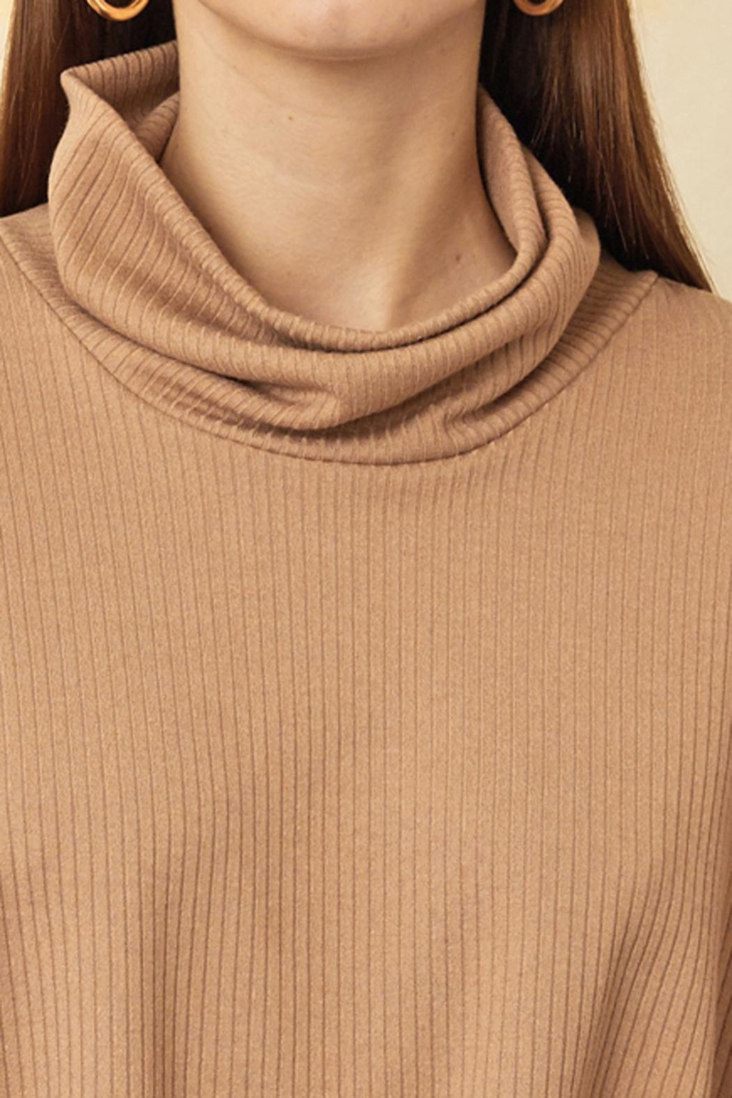 Sarah Liller Giorgia Ribbed Sweater - Side Cropped Image