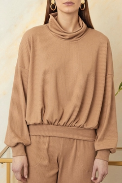 Sarah Liller Giorgia Ribbed Sweater - Product List Image