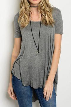 Shoptiques Product: Grey Swing Top