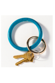 Ink + Alloy Acetate Bangle Key Ring - Front cropped