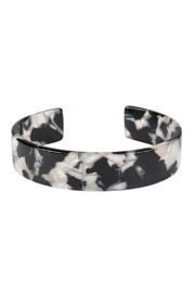 Riah Fashion Acetate Cuff Bracelet - Product Mini Image