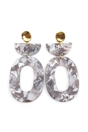 Dynamo Acetate Statement Earrings - Other