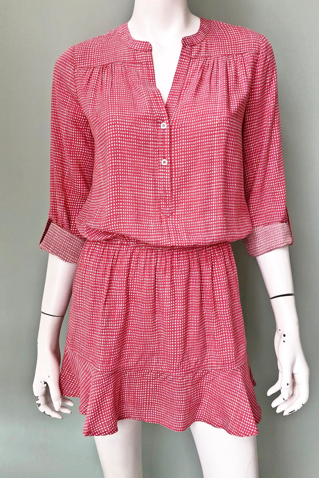 Joie Acey Printed Dress - Front Full Image